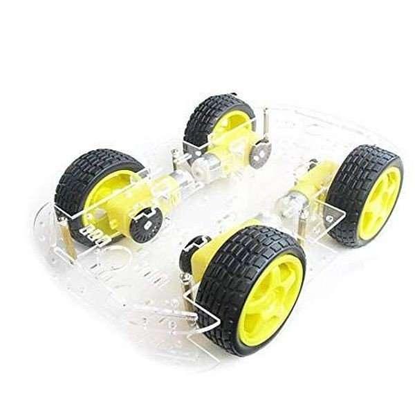 4Wheel Smart Robot Car Chassis Kit