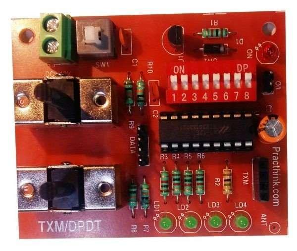 RF DPDT Robot Controller Kit