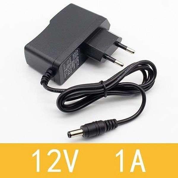 12V 1A DC Pin Power Supply Adapter