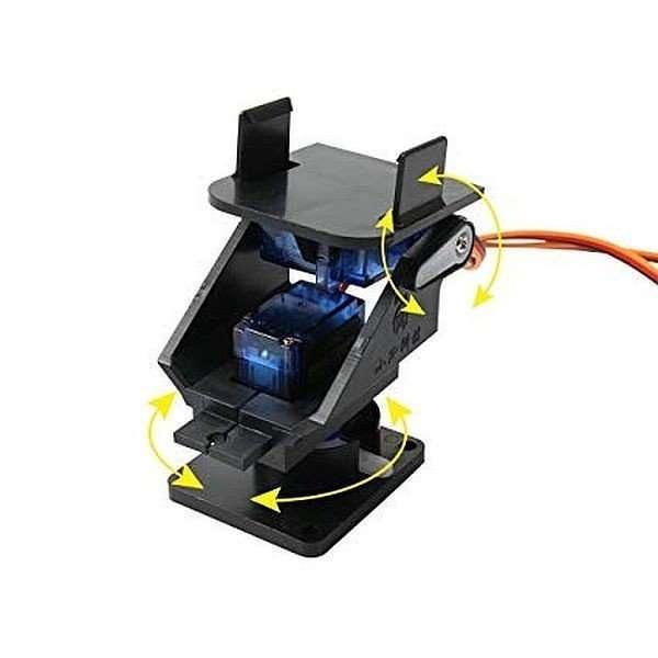 2 Axis Pan Tilt Brackets For Camera/Sensors for Servo SG90S MG90S
