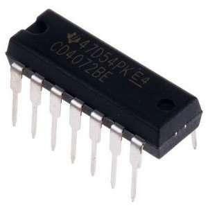 CD4072 IC - Dual 4-Input OR Gate IC