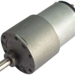 RS 37 100 RPM HIGH TORQUE SIDE SHAFT DC Geared Motor