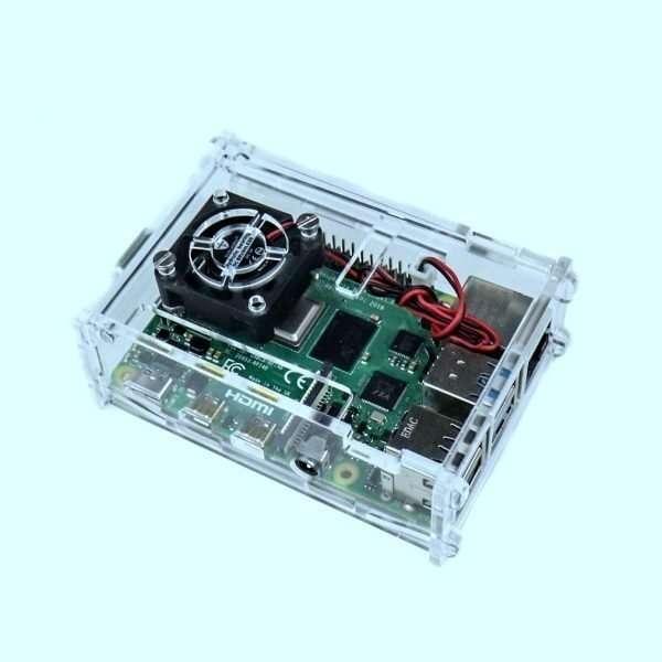 Acrylic Case for Raspberry PI 4 Model B