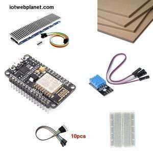 DIY Desktop Weather Station Kit