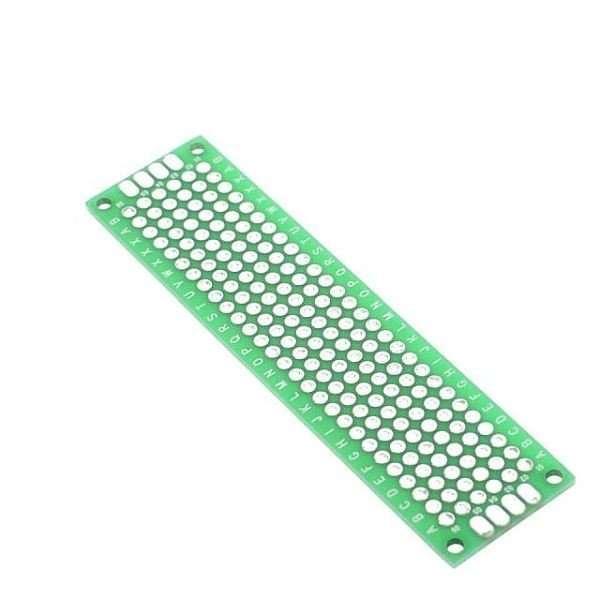 PCB 2x8 cm Double side Prototype