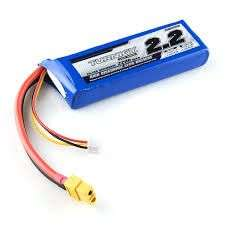 Lipo Battery - 2200mAh 11.1V for Quadcopter