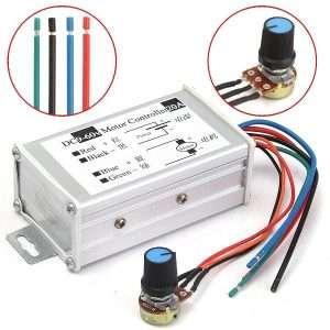 20A PWM DC Motor Speed Regulator Module (9V, 12V, 24V, 36V, 48V, 60V) 4