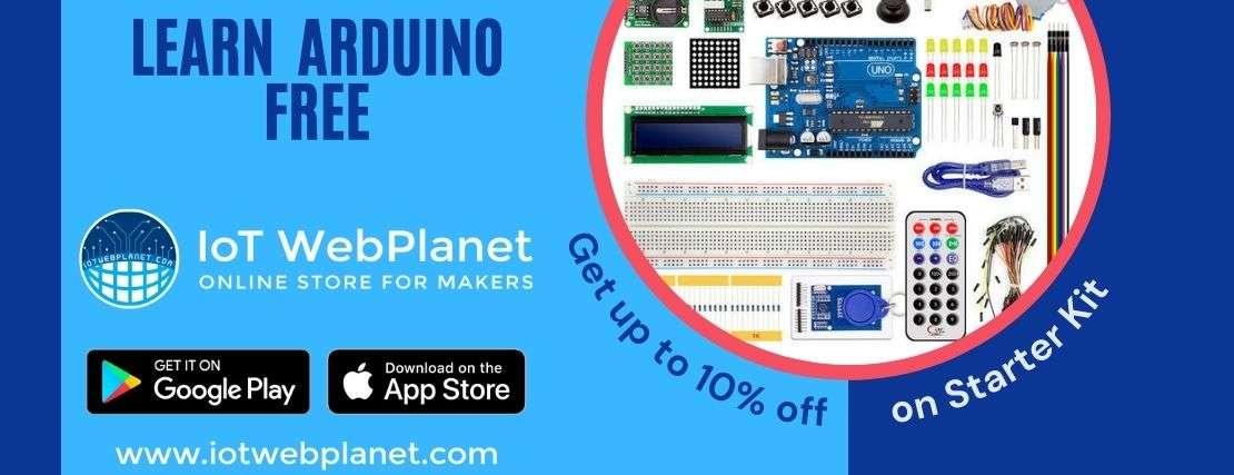 iotwebplanet youtube free arduino class